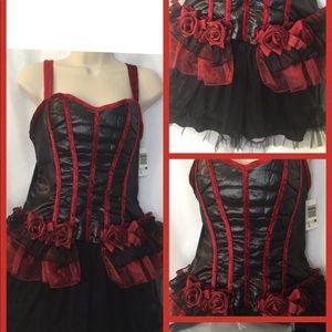 Sexy Barmaid Costume Dress Bust 33 Valentine